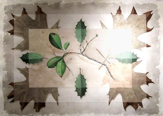 Barry Graham Brown Leaf
