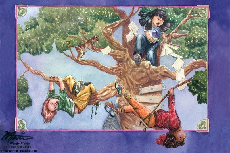 treeclimbers-wendymartinart