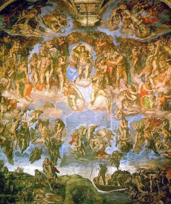 Michelangelo-Last-Judgement