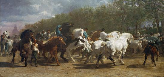 The Horse Fair, 1853–55