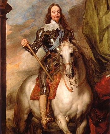 Van-Dyck-Charles-I-on-Horseback-with-Monsieur-de-St-Antoine-1633-large-1173835286