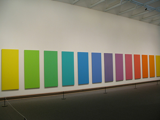 Spectrum V, 1969, Ellsworth Kelly