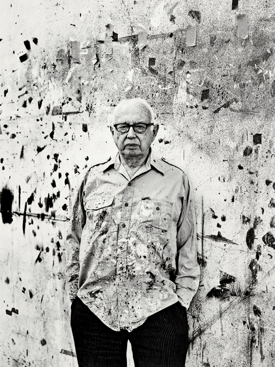Photography Sebastian Kim Ellsworth Kelly in Spencertown, New York, August 2011.
