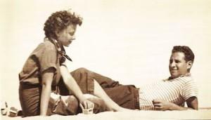 Lillian Bassman and Husband Paul Himmel