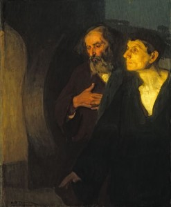 Two Disciples at the Tomb Henry Ossawa Tanner