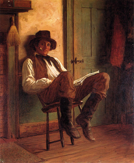Eastman-Johnson-1824-1906---American-Genre-painter