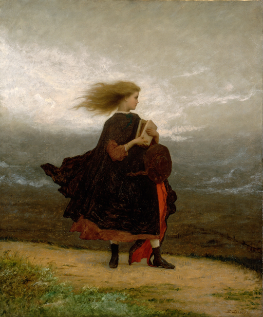Eastman Johnson: The Girl I Left Behind Me