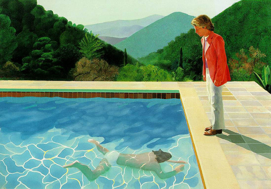 Portrait of an Artist (Pool with Two Figures) - 1971