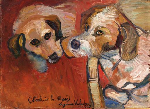 Suzanne Valadon (1865-1938) L'arbi et la misse 1927