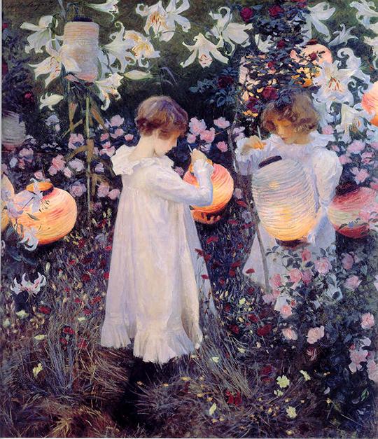 John_Singer_Sargent_-_Carnation_Lily_Lily_Rose