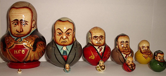 Matryoshka_Russian_politicians