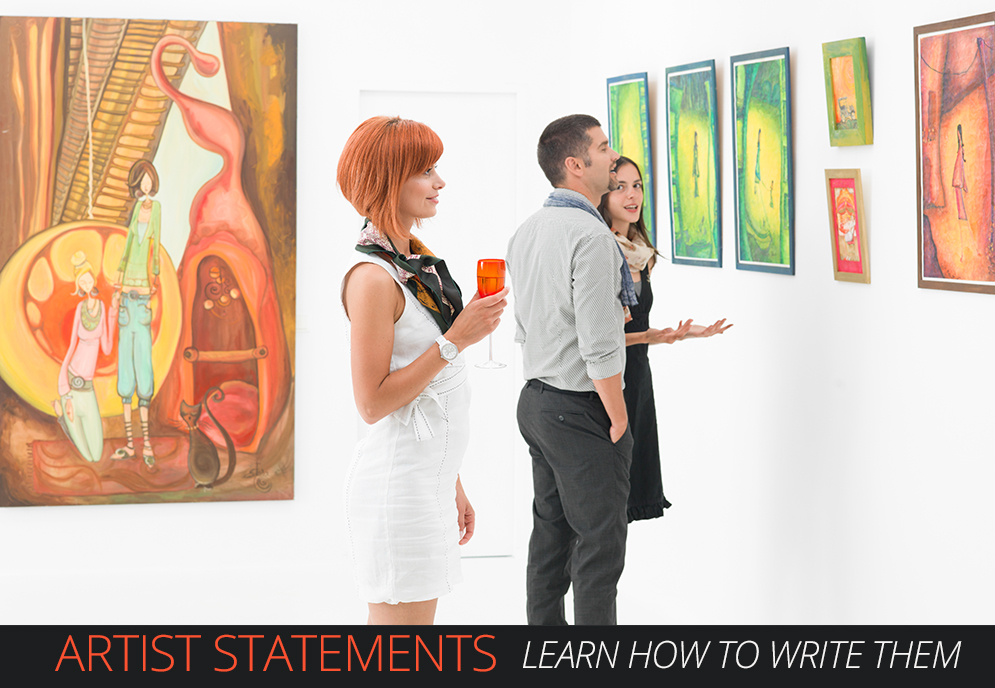 Learn how to write an effective artist statement