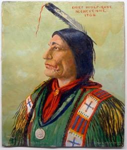 Chief Wolf Robe N. Cheyenne 1900