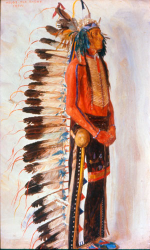 Holds_The_Enemy-_Crow_Indian-E.A_Burbank