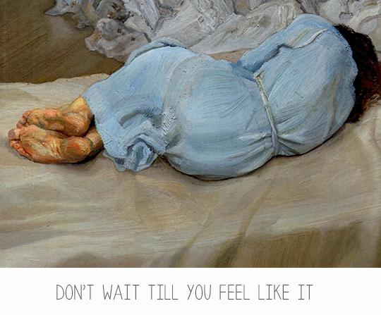 Annabel Sleeping - Lucian Freud.