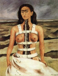 The Broken Column (1944) Frida Kahlo
