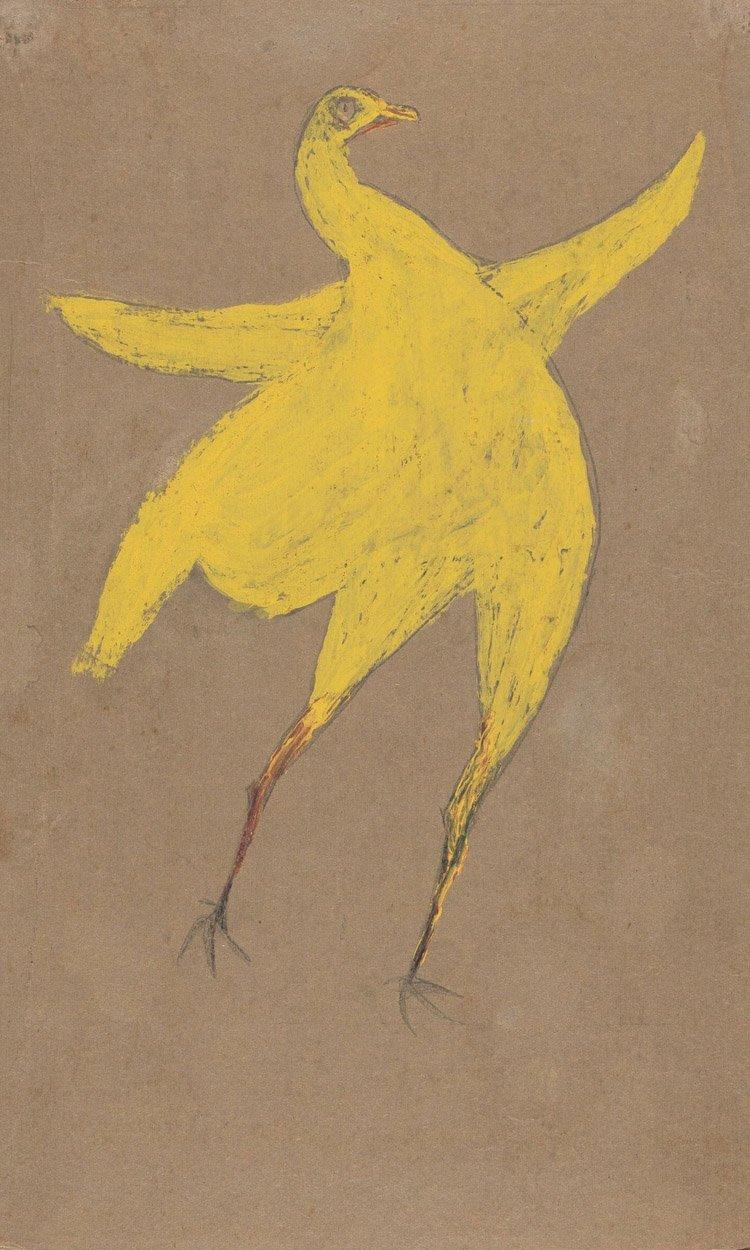 Bill Traylor Yellow Chicken