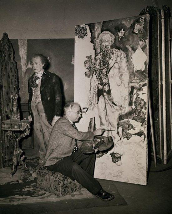 Ivan Painting Dorian Gray