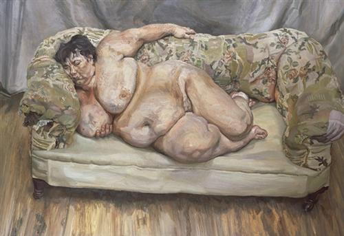 Benefits Supervisor Sleeping (also known as Big Sue) - Lucian Freud, 1995