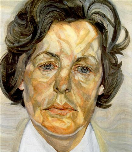 Woman in a White Shirt - Lucian Freud, 1956-1957