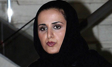 Sheikha Mayassa bint Hamad bin Khalifa al-Thani, the most powerful person in art. Photograph: Karim Jaafar/AFP/Getty Images