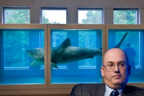 Steven Cohen famous art collector owns Damien Hirst's iconic shark piece* which was purchased for $8 million in 2004. *The Physical Impossibility of Death in the Mind of Someone Living