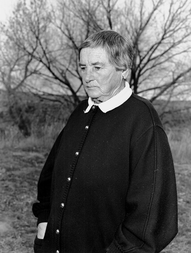 Agnes Martin from the Vanity Fair Assignment, 1988