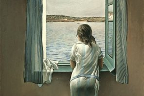 Salvador Dali - Figure at the Window [1925] currently located at the national museum in Madrid.