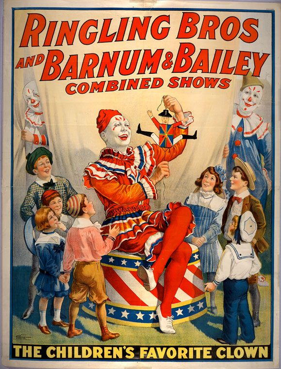 Favorite Ringling Brothers Circus Posters