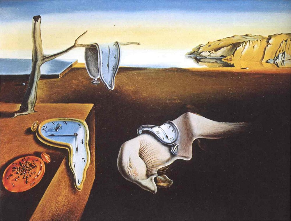 one of dalis most famous paintings include the persistence of memory