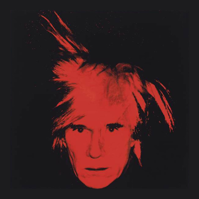 Andy Warhol Famous self portrait fetches millions
