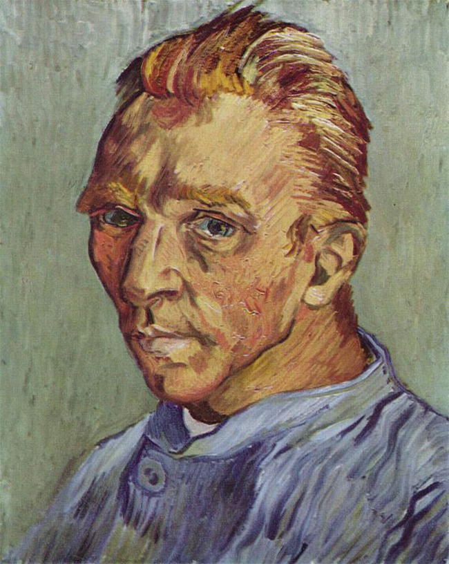 Was this van Goghs last self portrait