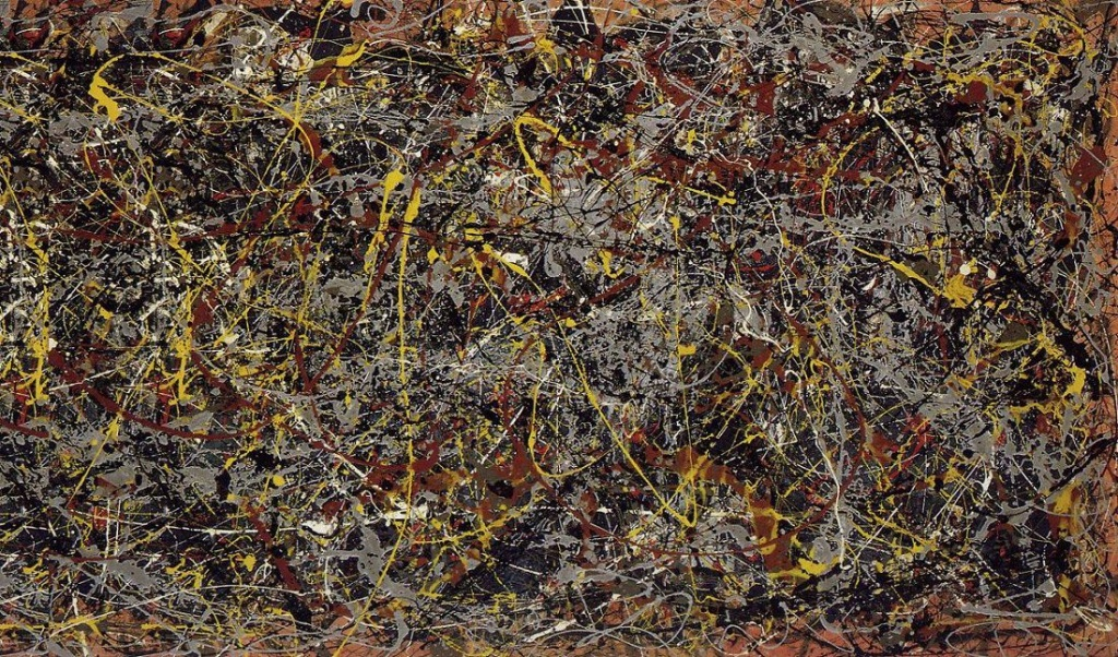 Pollack Number 5 one of the most expensive paintings in history