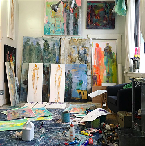 How to Create Your Ideal Artist Space