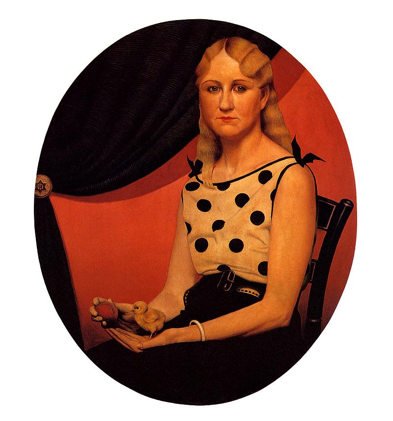 1933 Portrait of Nan