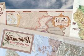 Wine maps - Napa Wine Map