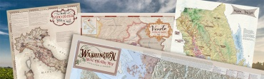 Wine maps - Napa Wine Map