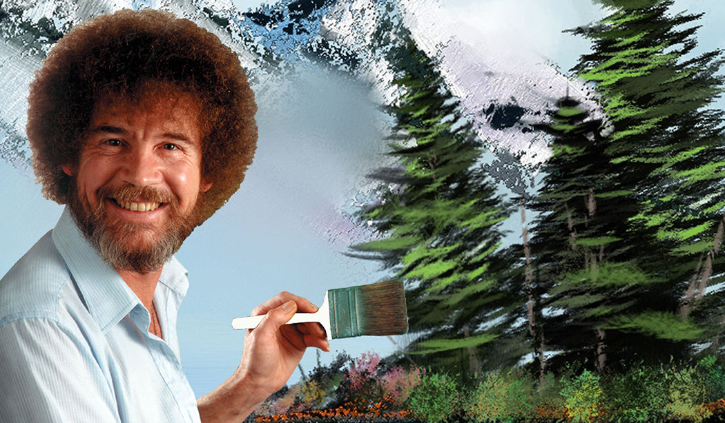 A happy little mystery. Where are the original Bob Ross paintings ...