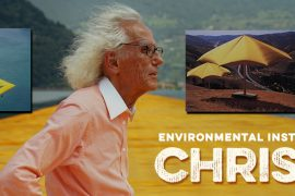Christo at The Floating Piers